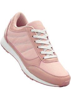 Кроссовки (дымчато-розовый/дымчато-розовый металлик) Bonprix