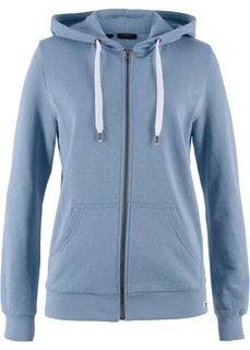 Трикотажная куртка (синий матовый) Bonprix