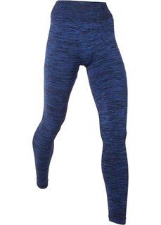 Бесшовные спортивные легинсы (сапфирно-синий меланж) Bonprix