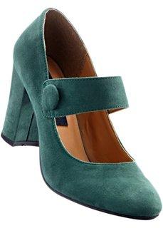 Туфли Мэри Джейн (зеленый) Bonprix
