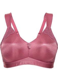 Разгрузочный бюстгальтер под футболку, чашка F (розовый) Bonprix