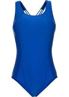 Цельный купальник (королевский синий) Bonprix