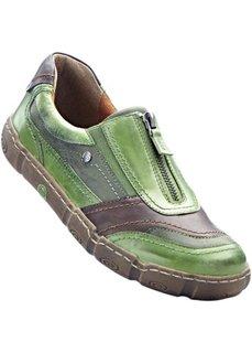 Удобные кроссовки (оливково-зеленый) Bonprix