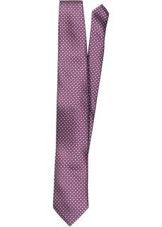 Галстук с минималистичным принтом (лиловый с узором) Bonprix