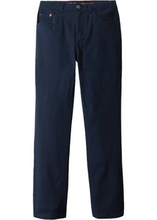 Твиловые брюки Slim Fit (темно-синий) Bonprix
