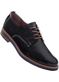 Туфли на шнуровке (черный) Bonprix