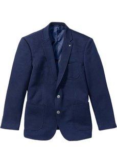 Трикотажный пиджак Regular Fit (темно-синий) Bonprix