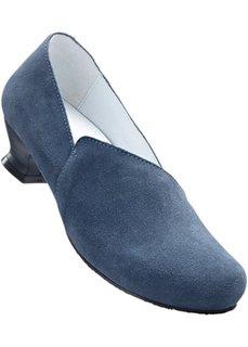 Замшевые туфли (синий/светло-серый) Bonprix