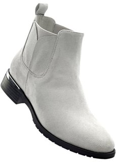 Ботинки-челси (серый) Bonprix