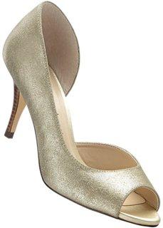 Туфли с открытым носком (золотистый) Bonprix