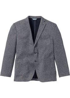 Пиджак из структурного материала (темно-синий/белый с узором) Bonprix