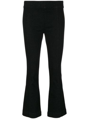 укороченные брюки клеш  Helmut Lang