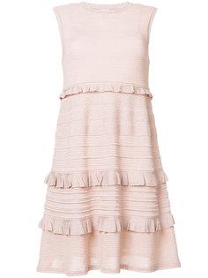платье-миди с оборками M Missoni