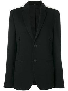 пиджак с полосками на рукавах Fendi