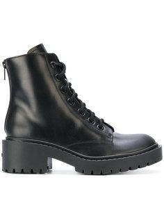 армейские ботинки на шнуровке Kenzo