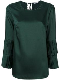 плиссированная блузка с многослойными рукавами  P.A.R.O.S.H.