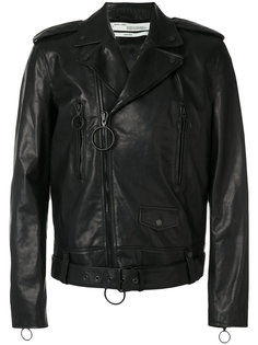 байкерская куртка со стрелками Off-White