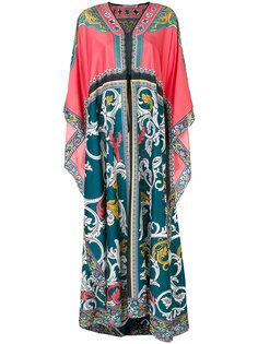 макси платье с каскадными рукавами Mary Katrantzou