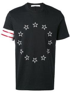 футболка с принтом из звезд Givenchy