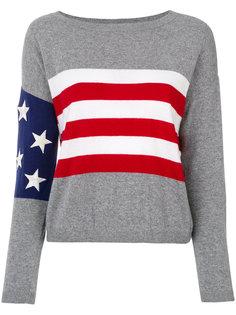 топ с флагом США  Twin-Set