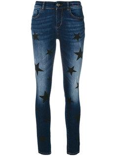 джинсы скинни со звездами Twin-Set