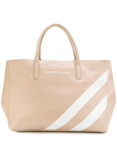 сумка-тоут с полосками Marc Ellis