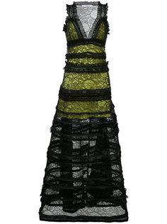 платье с кружевной отделкой Givenchy