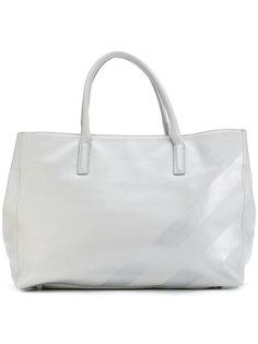 сумка-тоут с металлизированными полосками Marc Ellis