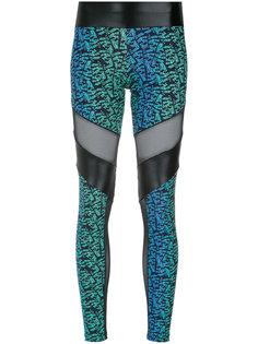 printed leggings Giuliana Romanno