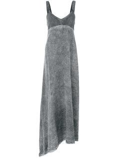 свободное платье с асимметричной юбкой Lost & Found Rooms