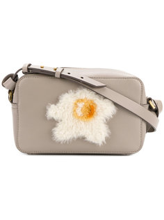 egg appliqué crossbody bag Anya Hindmarch