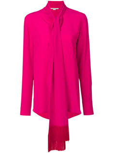 блузка с завязкой спереди Stella McCartney