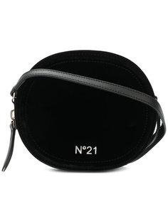 сумка через плечо с логотипом Nº21
