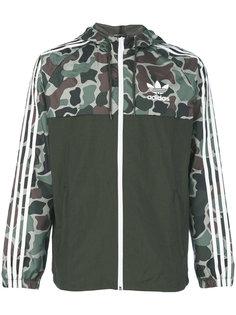 ветровка с камуфляжным рисунком Adidas Originals