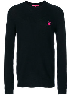 пуловер с принтом ласточки McQ Alexander McQueen