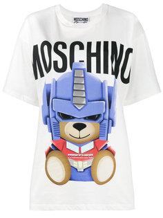 футболка Transformer Teddy Moschino