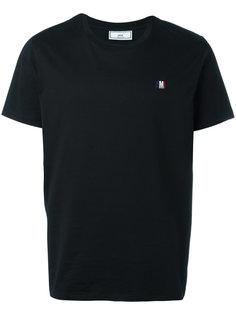 футболка с вышивкой ami  Ami Alexandre Mattiussi