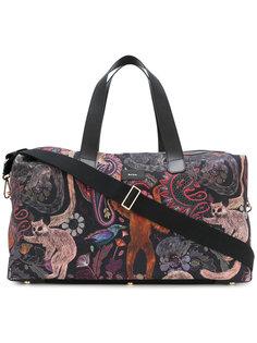 дорожная сумка с принтом мартышек Paul Smith