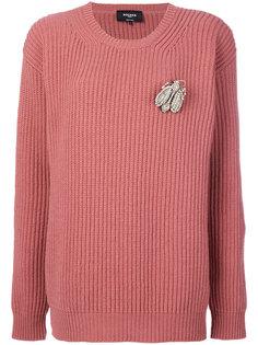 свитер с круглым вырезом Rochas