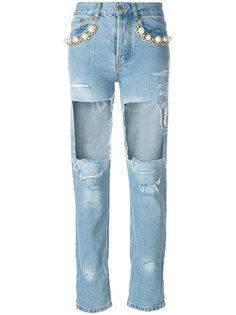 Big Heroes destroyed jeans Forte Couture