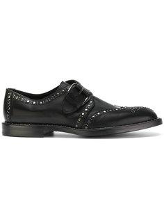 туфли монки с ремешками Dolce & Gabbana