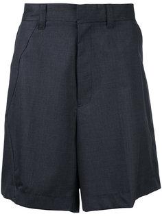 шорты со складками Facetasm