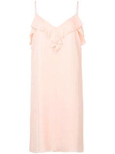 платье с V-образным вырезом Rag & Bone