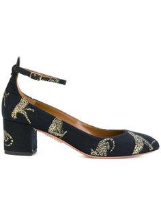 туфли-лодочки с гепардами  Aquazzura