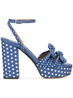 Jodie polka dot print sandals Tabitha Simmons