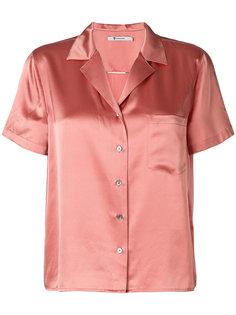 рубашка с короткими рукавами  T By Alexander Wang