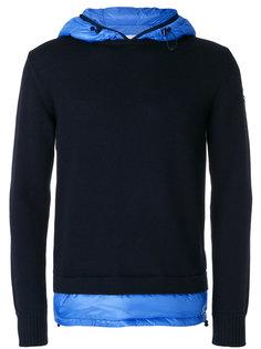 contrast hoodie Moncler