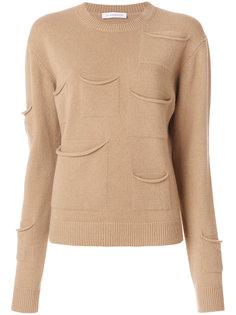 свитер с карманом  J.W.Anderson