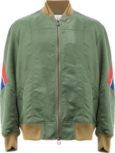 куртка-бомбер на молнии Facetasm