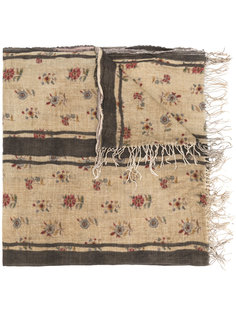шарф с цветочным принтом Uma Wang